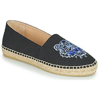 Zapatos Mujer Alpargatas Kenzo ESPADRILLE CLASSIC TIGER Negro