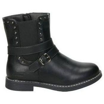 Zapatos Niña Botas de caña baja Crecendo Botines  1611 niña negro Noir