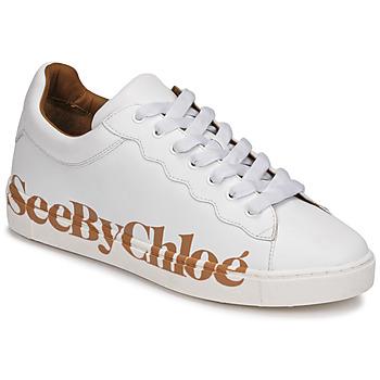 Zapatos Mujer Zapatillas bajas See by Chloé SB33125A Blanco