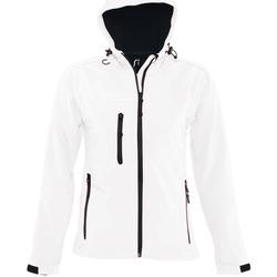 textil Hombre chaquetas de deporte Sols REPLAY MEN STYLE Blanco
