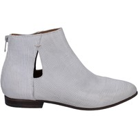 Zapatos Mujer Low boots Moma botines cuero blanco