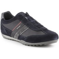 Zapatos Hombre Slip on Geox Wells A Negro