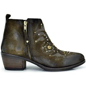 Zapatos Mujer Low boots Exé Shoes BOTINES BAJOS CON REMACHES BELA-418