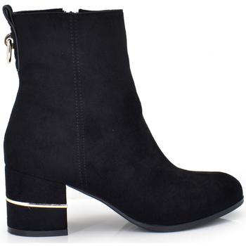 Zapatos Mujer Botines Exé Shoes BOTINES TACON ANCHO BASICO XJ1133-YQ1066-12 Color Negro