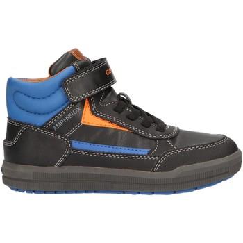 Zapatos Niño Zapatillas altas Geox J845SA 000BC J ARZACH Negro