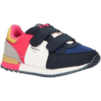 Zapatos Niña Zapatillas bajas Pepe jeans PGS30420 SYDNEY Azul