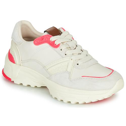 Zapatos Mujer Zapatillas bajas Coach C143 RUNNER Blanco / Rosa