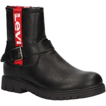 Zapatos Niña Botas urbanas Levi's VPHI0005S NEWPORT Negro