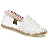 Zapatos Mujer Alpargatas Art of Soule AUDACIEUSES Blanco / Plata