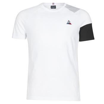textil Hombre Camisetas manga corta Le Coq Sportif ESS Tee SS N°10 M Negro / Gris