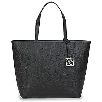 Bolsos Mujer Bolso shopping Armani Exchange MANO Negro