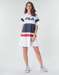 textil Mujer Vestidos cortos Fila BASANTI Blanco / Marino / Rojo