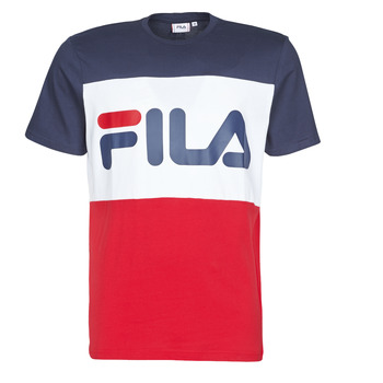textil Hombre camisetas manga corta Fila DAY Marino / Rojo / Blanco