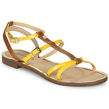Zapatos Mujer Sandalias JB Martin 1GRIOTTES Amarillo / Marrón