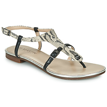 Zapatos Mujer Sandalias JB Martin 2GAELIA Negro / Beige