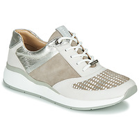 Zapatos Mujer Zapatillas bajas JB Martin 1KALIO Beige / Blanco / Plata