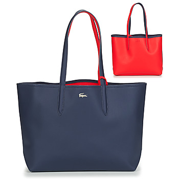 Bolsos Mujer Bolso shopping Lacoste ANNA Marino / Rojo