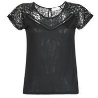 textil Mujer Camisetas manga corta Deeluxe CLEA Negro