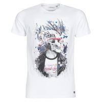 textil Hombre Camisetas manga corta Deeluxe ENFIELDON Blanco