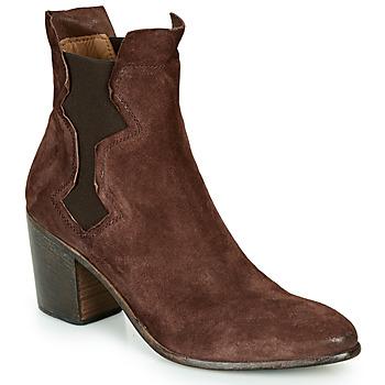 Zapatos Mujer Botines Moma NIAGARA - OLIVER Marrón