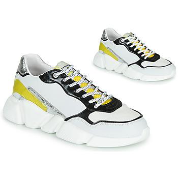 Zapatos Mujer Zapatillas bajas Serafini OREGON Blanco / Negro / Amarillo