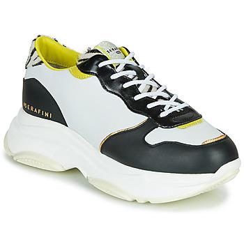 Zapatos Mujer Zapatillas bajas Serafini BROOKLYN Blanco / Negro