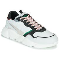 Zapatos Hombre Zapatillas bajas Serafini OREGON Blanco / Negro