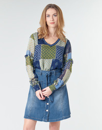 textil Mujer Tops / Blusas Cream CLODIE Azul