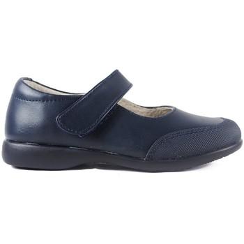 Zapatos Niña Derbie & Richelieu Bubble Bobble Zapatos Colegial  A005 Marino Azul