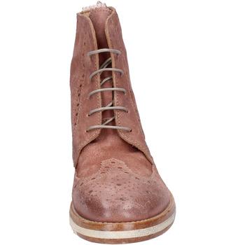 Moma botines gamuza rosado - Envío gratis |  - Zapatos Botas de caña baja Mujer 15999