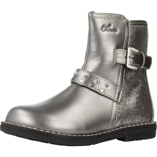 Chicco 1062648 Plata - Zapatos Botas de caña baja Nino