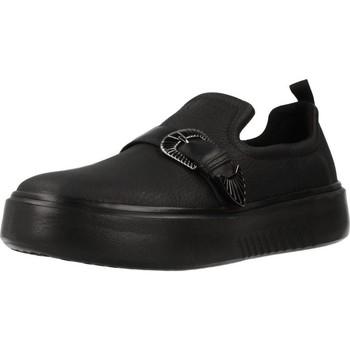 Zapatos Mujer Slip on Geox D NHENBUS Negro
