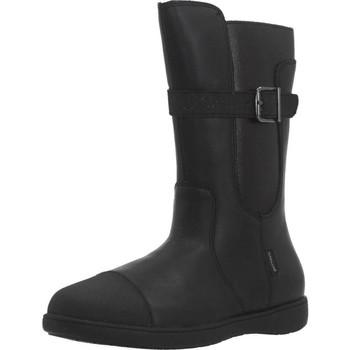 Zapatos Niña Botas urbanas Garvalin 191628 Negro