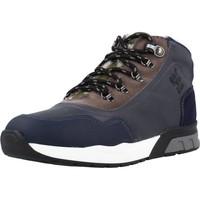 Zapatos Niño Zapatillas altas Garvalin 191421 Azul