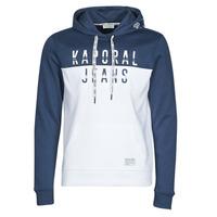 textil Hombre sudaderas Kaporal TOSCA Blanco / Azul