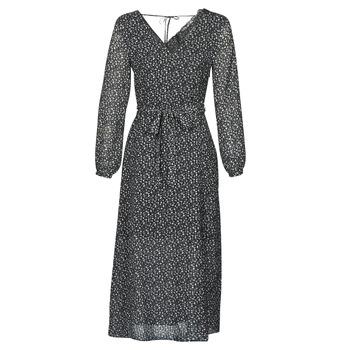 textil Mujer vestidos largos Ikks BQ30085-02 Negro