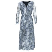 textil Mujer vestidos largos Ikks BQ30285-44 Azul