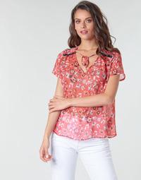 textil Mujer Tops / Blusas Ikks BQ11145-37 Naranja