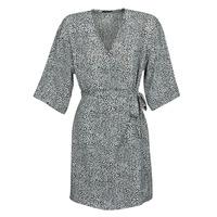 textil Mujer Vestidos cortos Ikks BQ30415-03 Negro / Blanco