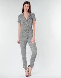 textil Mujer Monos / Petos Ikks BQ32045-03 Negro / Blanco