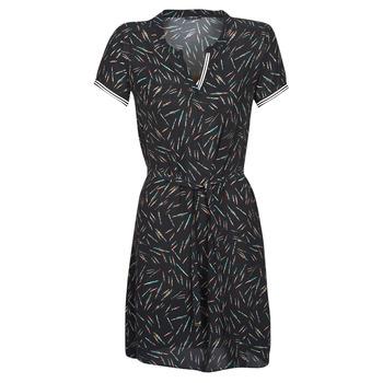textil Mujer Vestidos cortos One Step ROSA Negro
