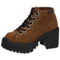 Zapatos Mujer Low boots Coolway Botines borne cuero CUERO
