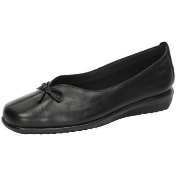 Zapatos Mujer Bailarinas-manoletinas 48 Horas Manoletinas piel 48h Negro