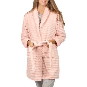 textil Mujer Pijama Admas Bata de vestir Winter Paisley Rosa Pálido