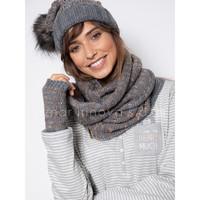 Accesorios textil Mujer Bufanda Admas Bufanda de punto Gris Claro