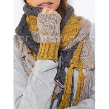 Accesorios textil Mujer Bufanda Admas Bufanda tricolor Verde Oscuro