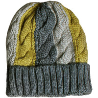 Accesorios textil Mujer Gorro Admas Sombrero tricolor Verde Oscuro