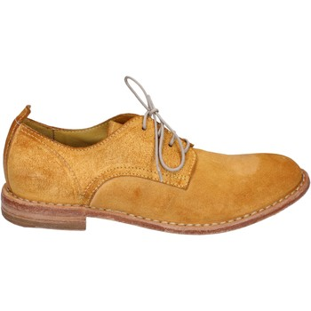 Zapatos Mujer Derbie Moma elegantes gamuza amarillo