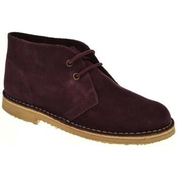 Zapatos Mujer Botas de caña baja Taum BOTIN MUJER  BURDEOS Violeta
