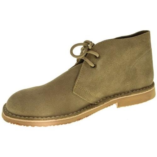 Taum 514 Beige - Zapatos Botas de caña baja Mujer